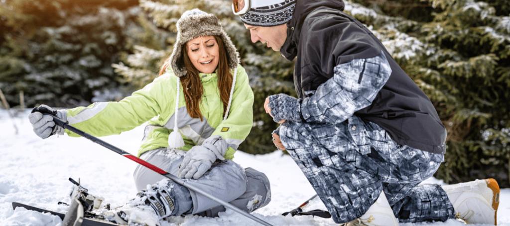 lesiones más frecuentes del esquí